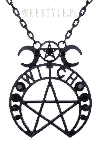 Witch Moon Pendant