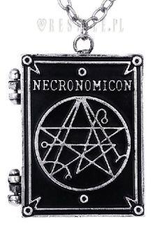 Necronomicon Book Locket