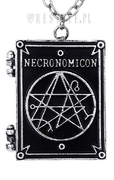 Necronomicon Book Locket