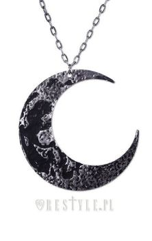 Moon Textured Pendant