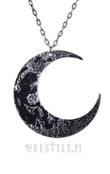 Moon Textured Pendant
