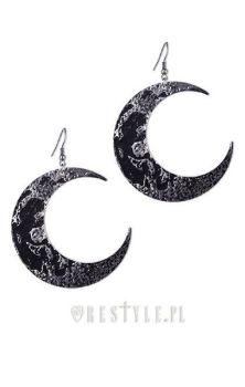 Moon Textured Earrings