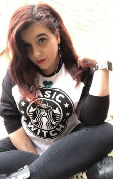 Basic Witch Baseball Top RRP £24.99