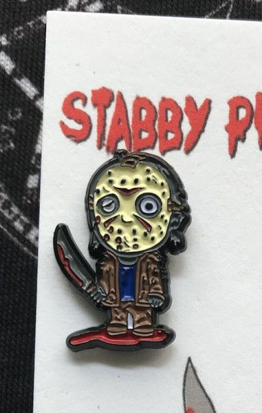Jason Horror Pin