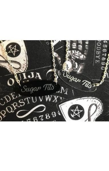 Sugar Tits Meh Necklace