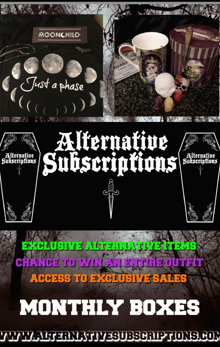 Trick Or Treat Subscription Box - Click the link to subscribe