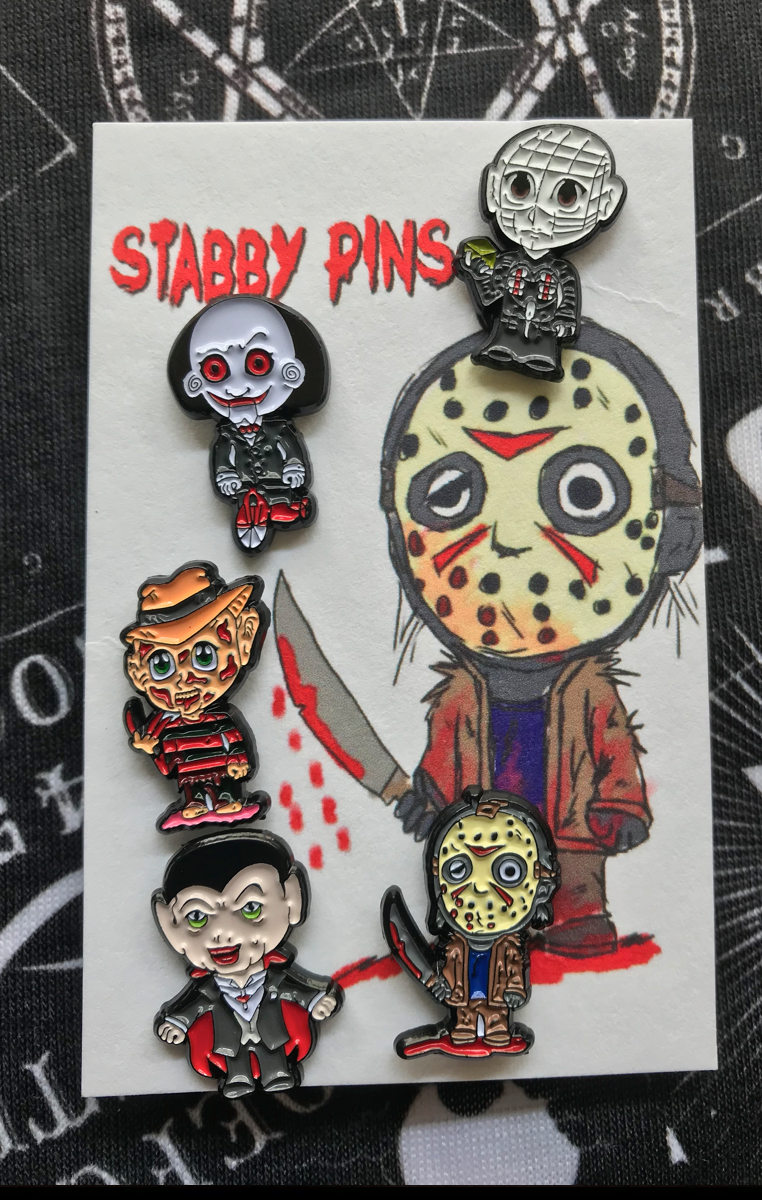 Stabby Pins Subscription - 2 Pins per month