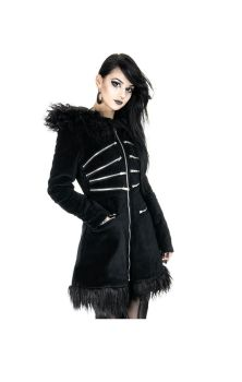 Black Pixie Coat