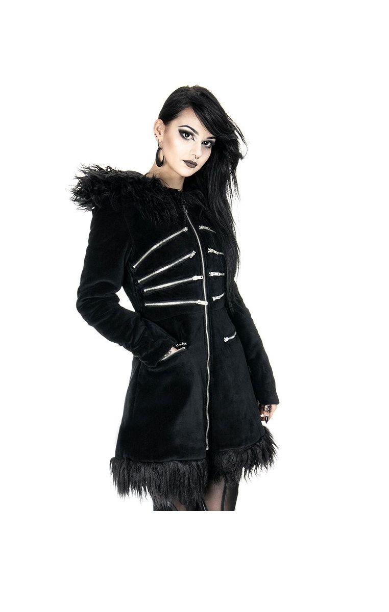 Black Pixie Coat