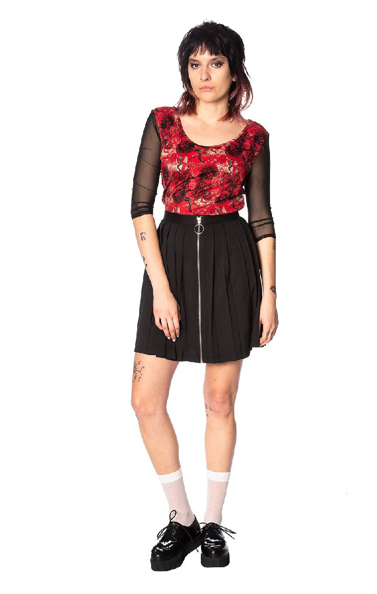 Mad Dame Mesh Top