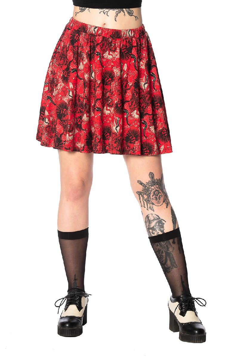 Mad Dame Skater Skirt