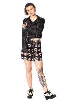 Glampire Bodycon Skirt SK25046