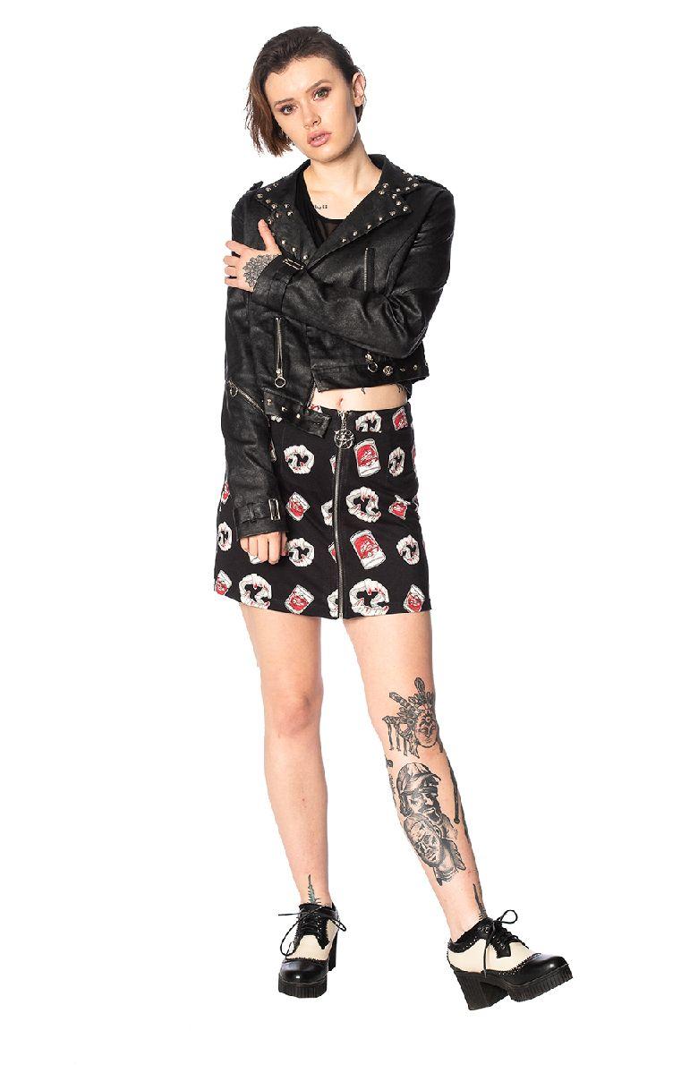 Glampire Bodycon Skirt