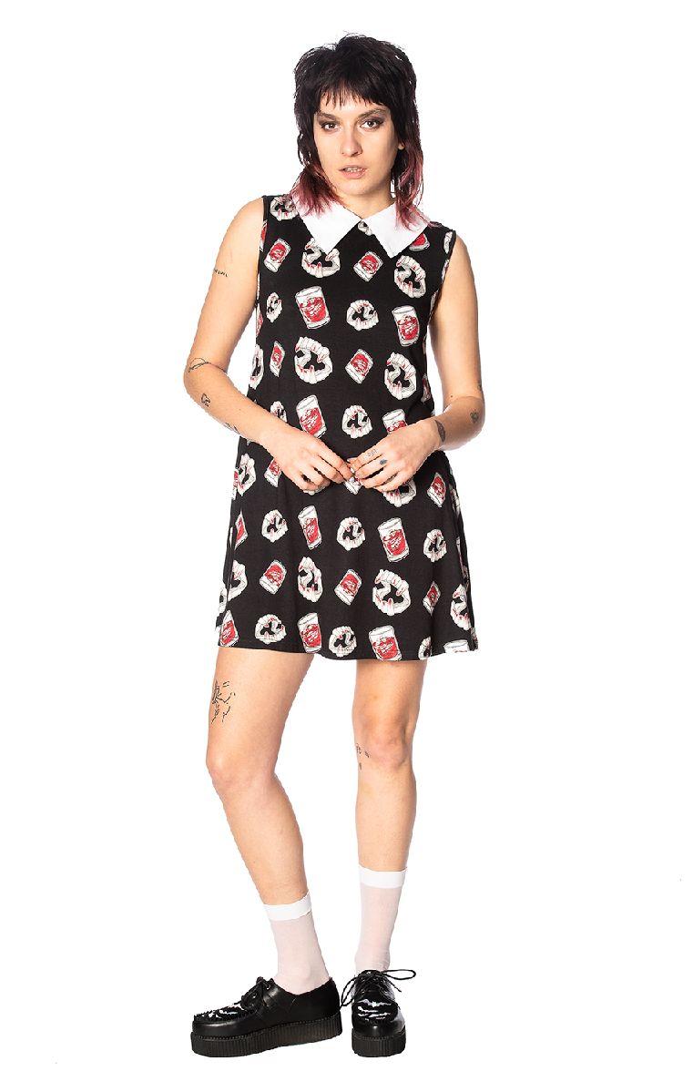 Glampire Collar Dress