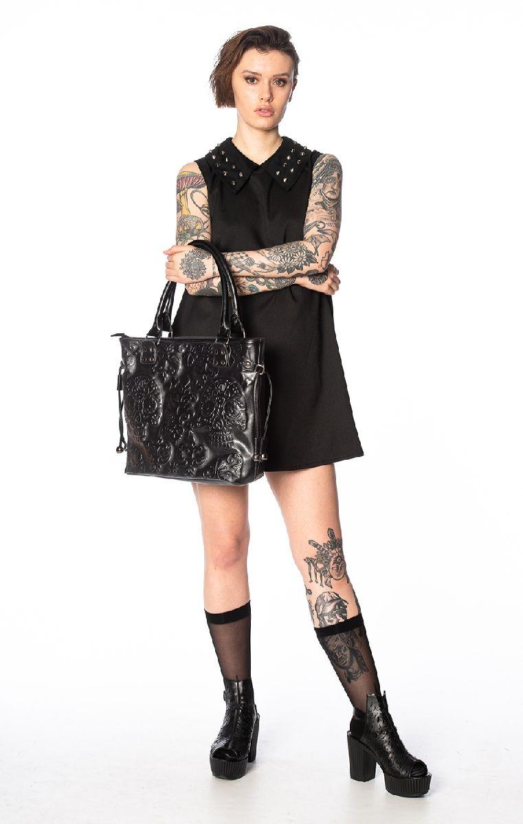 Musette Emboss Tote Bag