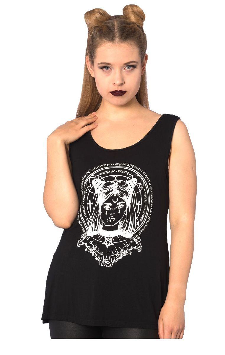 Mystic Chic Pentagram Top TP1361