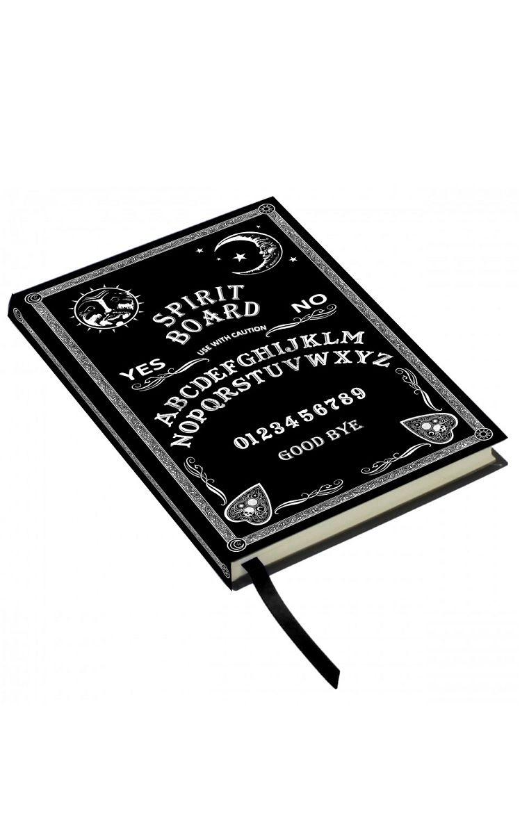 Embossed Journal Black and White Spirit Board