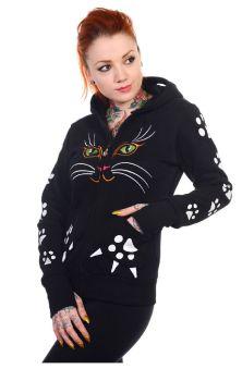 Cat Face Hoodie HBN016