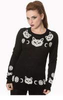 Cat Knit Jumper JP1514