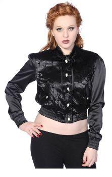 Cross Cameo Black Short Jacket JBN609