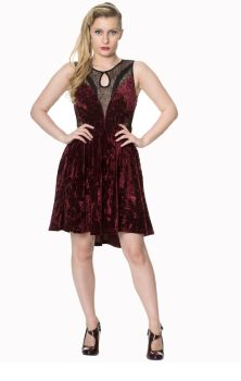Shadow Angel Dress Red DR5204