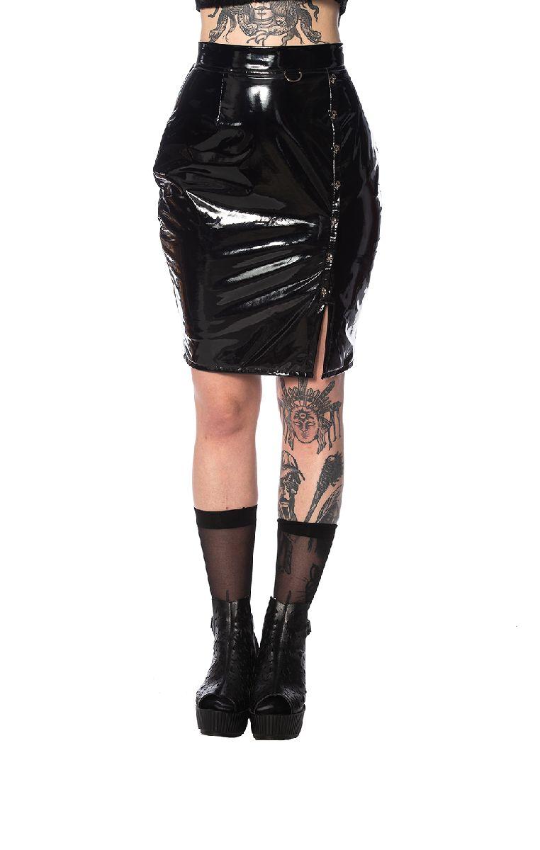 Shiny Skulls Skirt SK25050