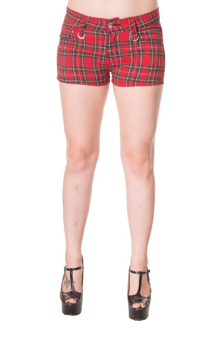 Tartan Shorts QBN1807