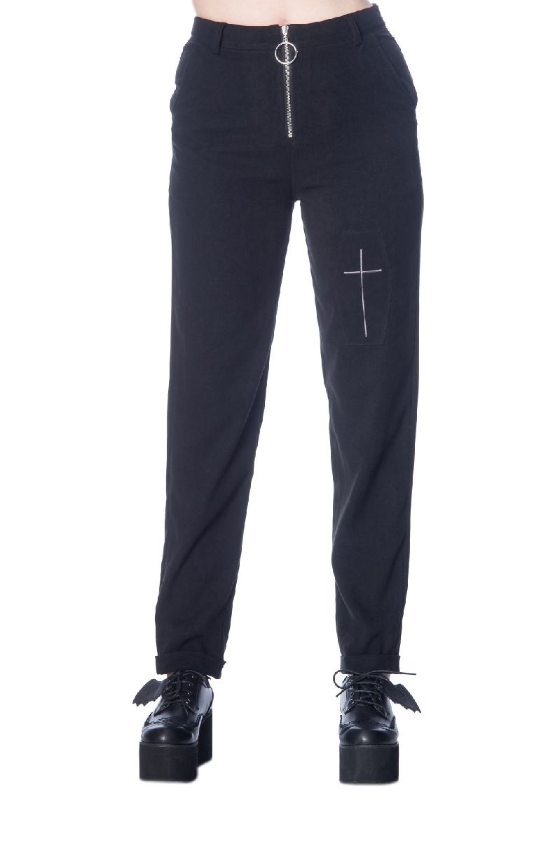 Undertaker Mom Trousers TR4125