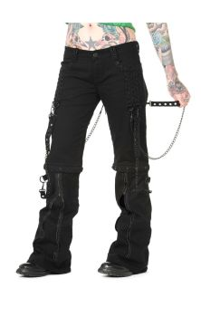 Chain Trousers Black TBN404