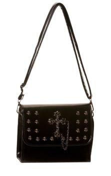 Black Cross Handbag BBN795