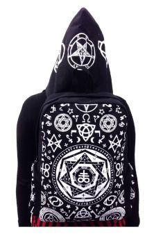 Black Pentagram Backpack