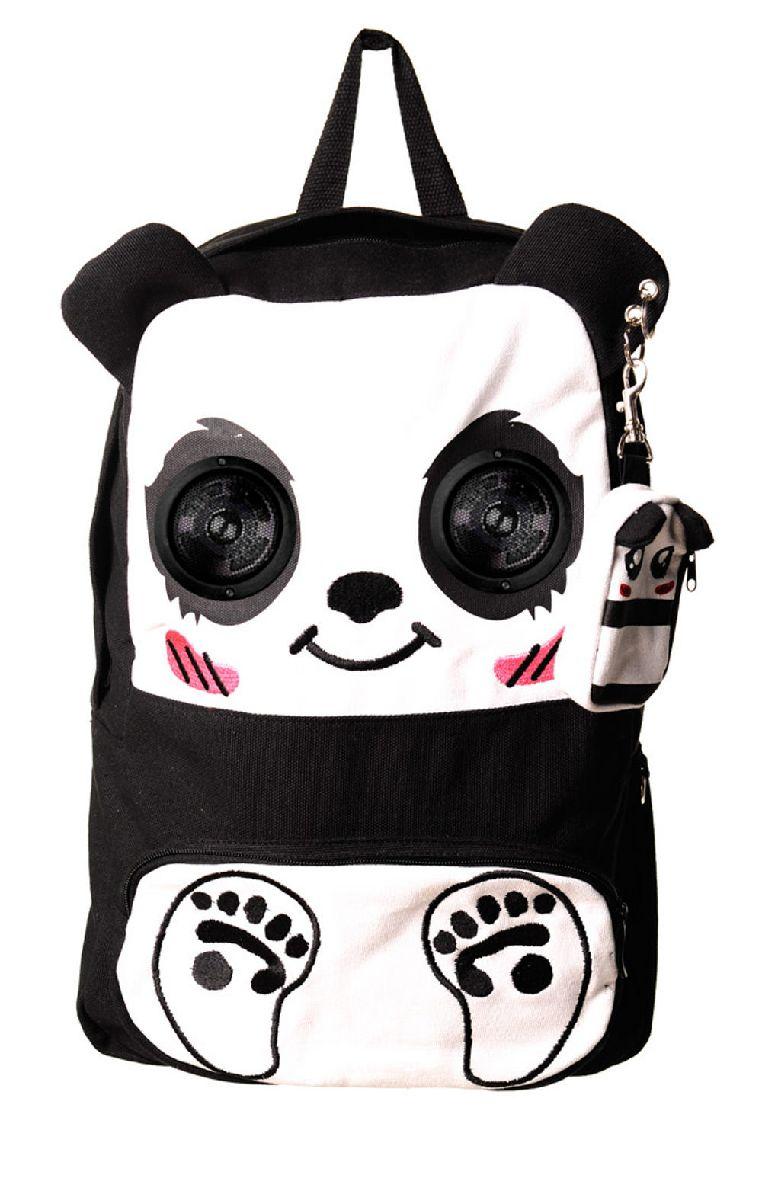 Panda Speaker Backpack