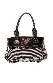 Dots Striped Anchor Handbag BBN705