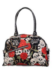 Skull Roses Handbag BBN730