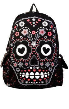 Sugar Skull Backpack BBN762
