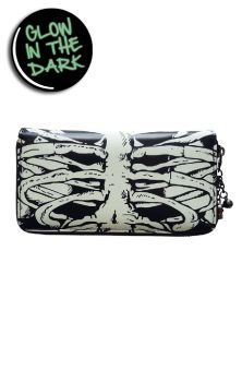Glow In The Dark Skeleton Wallet WBN1404