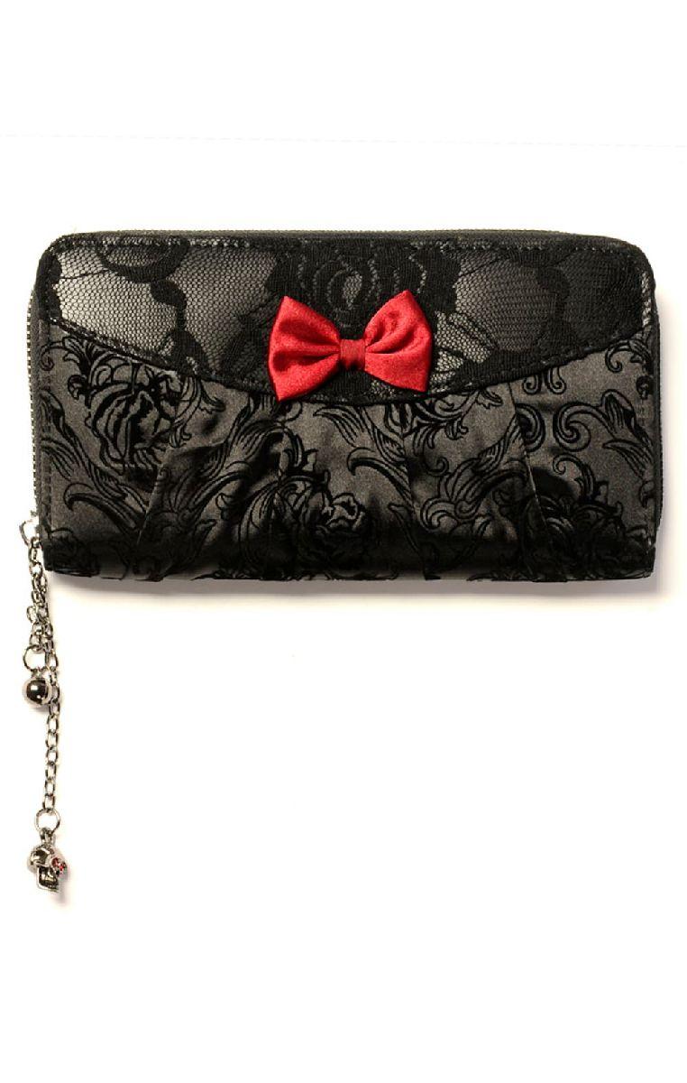 Vine Black Lace Wallet
