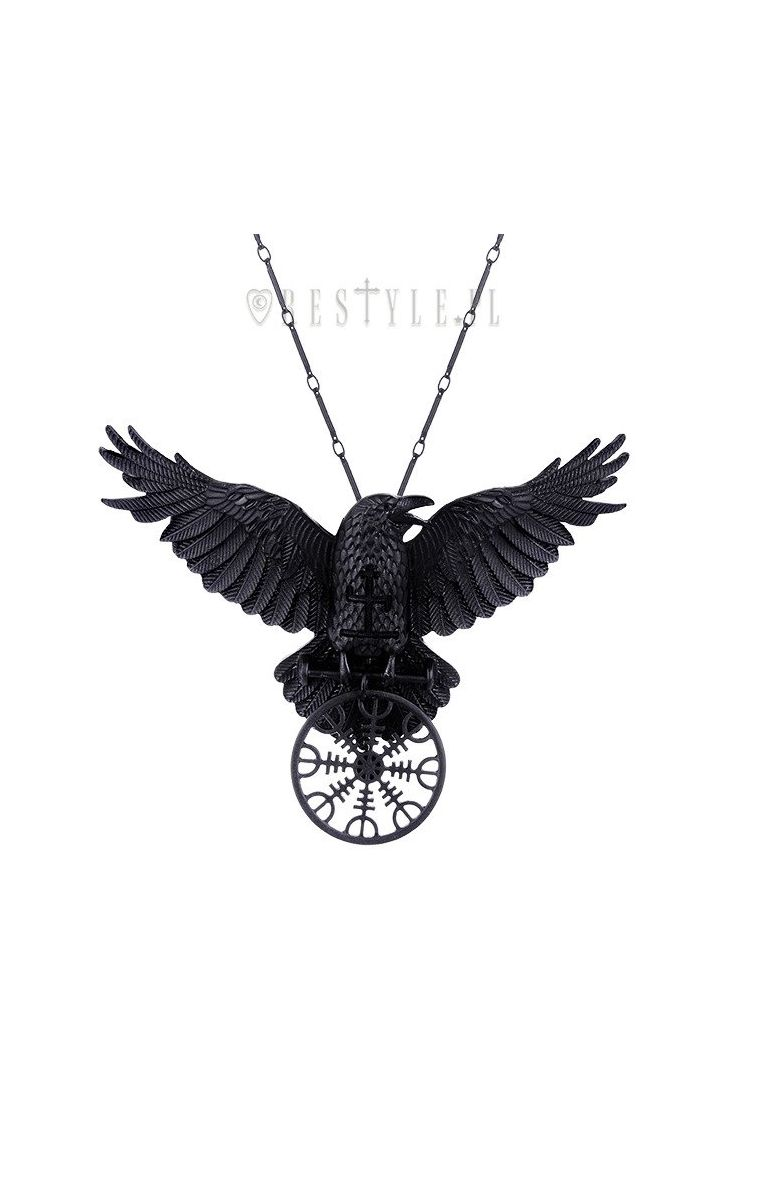 Helm Of Awe Raven Pendant