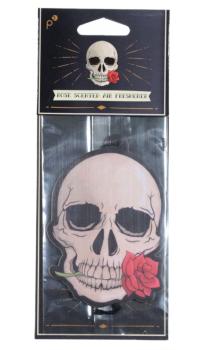 Skull Rose Air Freshener