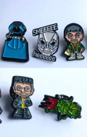 Red Dwarf Enamel Pins Pack A