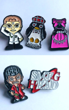 Red Dwarf Enamel Pins Pack B