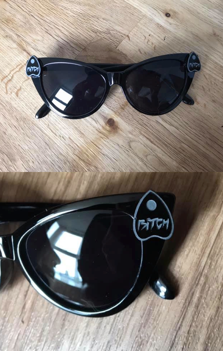 Bitch Planchette Sunglasses