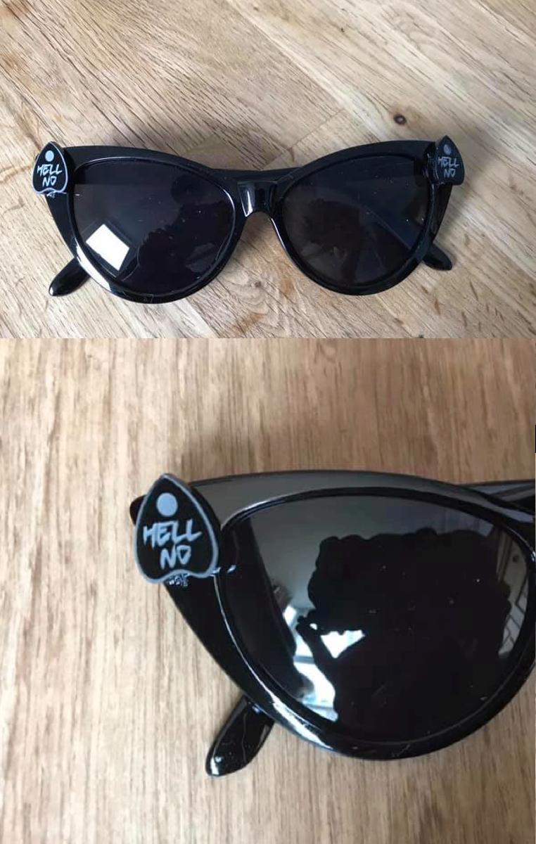 Hell No Planchette Sunglasses