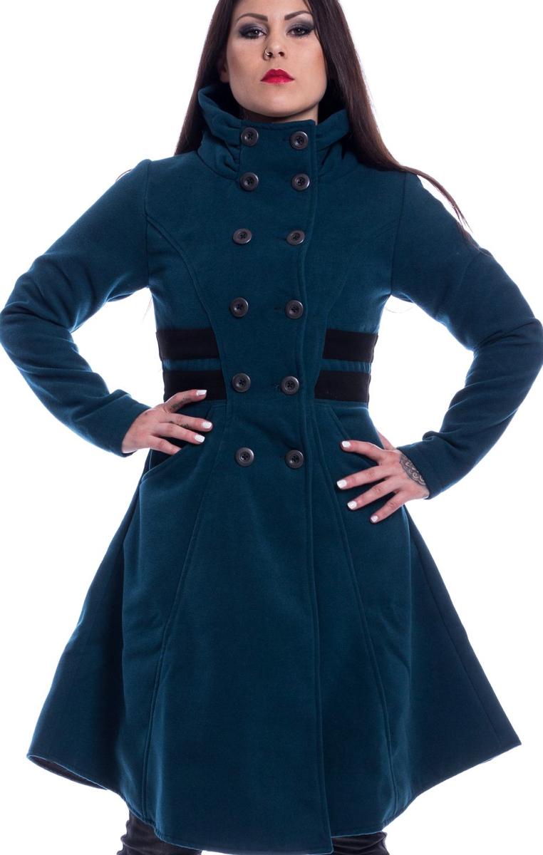 Eliana Coat Petrol