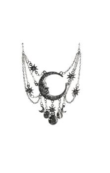 Sleepless Nights Necklace Silver