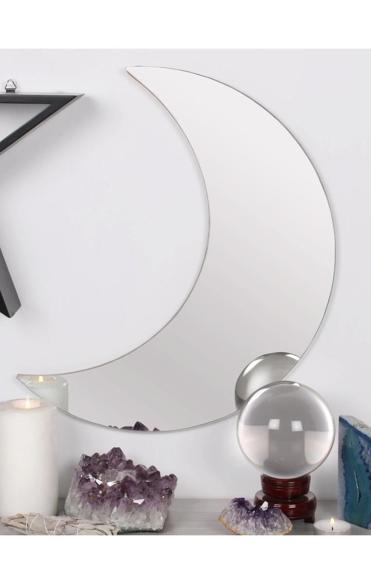 Crescent Moon Mirror