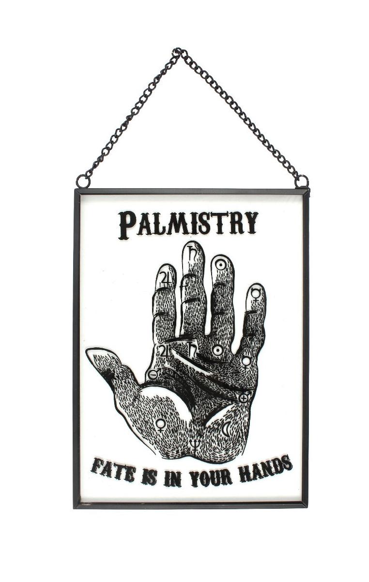 Glass Palmistry Sign