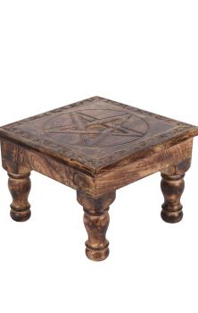 Pentagram Altar Table