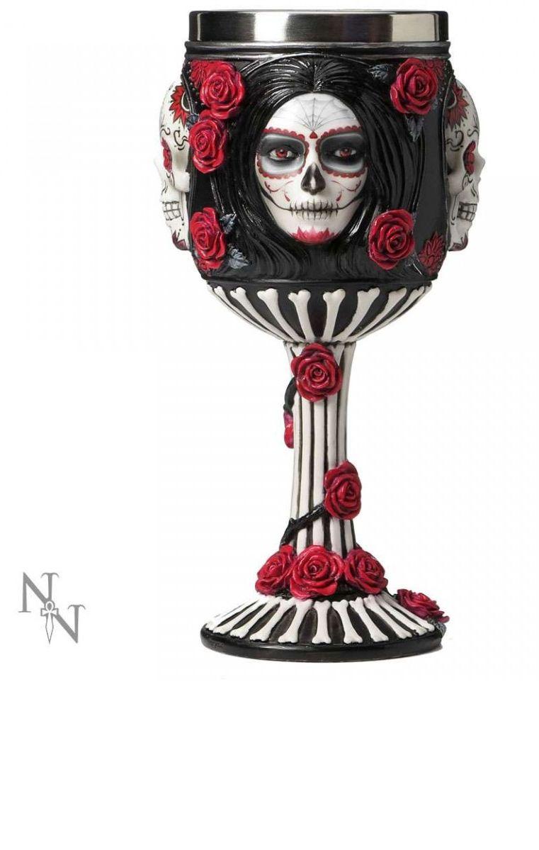 Sugar Skull Goblet