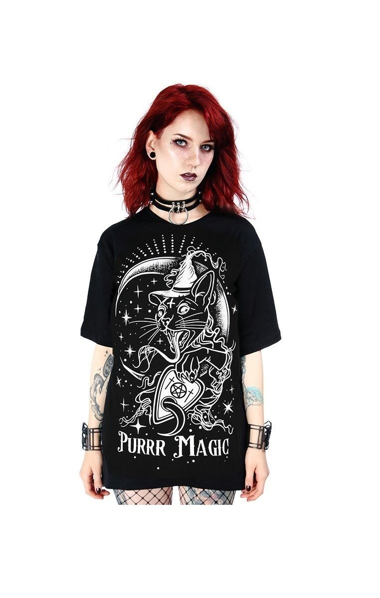 Purr Magic Oversized T-shirt